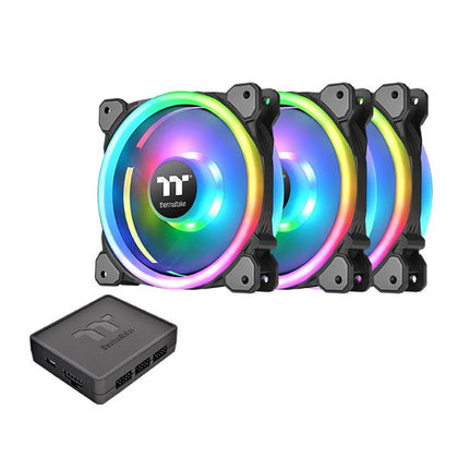 Thermaltake RING TRIO 12 RGB Triple Fans Pack With Controller