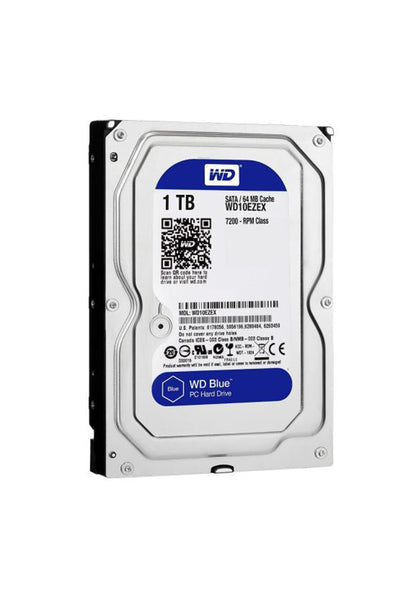 Western Digital 1TB Blue Internal HDD - Hotshiftpc