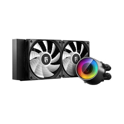 Deepcool Castle 240 RGB V2 Liquid Cooler - Hotshiftpc