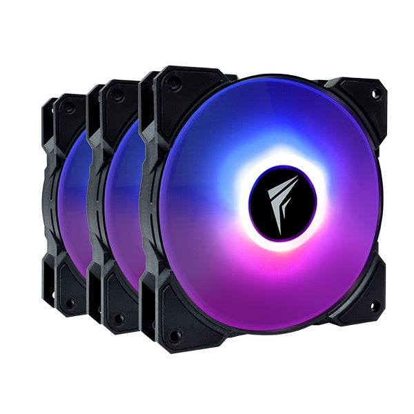 Frostec FS-120A ARGB Fans with Controller (Triple Pack)