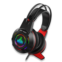 Ant Esports H550W RGB Headset (Black-Red)