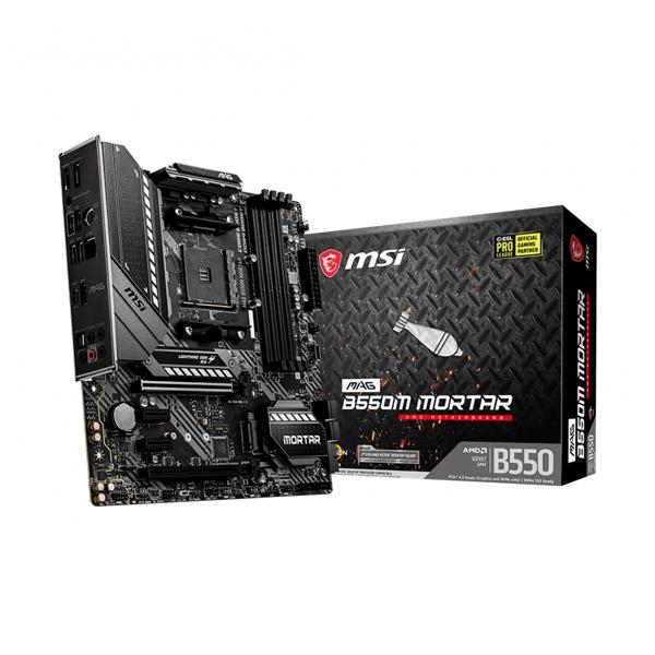 Msi MAG B550M Mortar AMD Motherboard