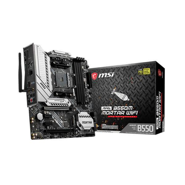 MSI MAG B550M MORTAR WIFI AMD Motherboard