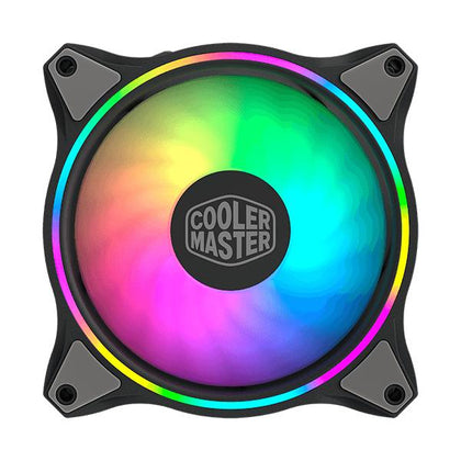 Cooler Master MasterFan MF120 Halo ARGB Cabinet Fan (Triple Pack)