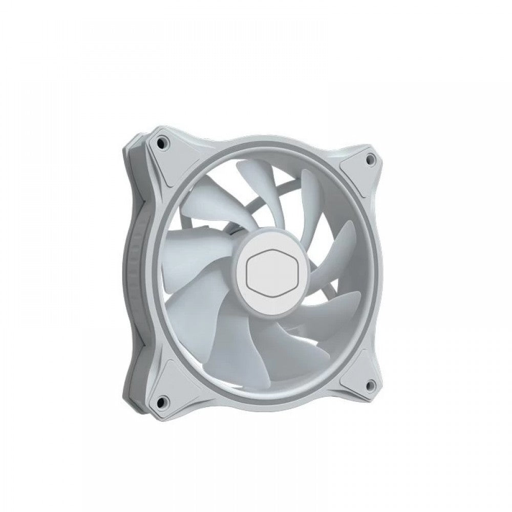 COOLER MASTER MASTERFAN MF120 HALO ARGB 3IN1 WHITE EDITION