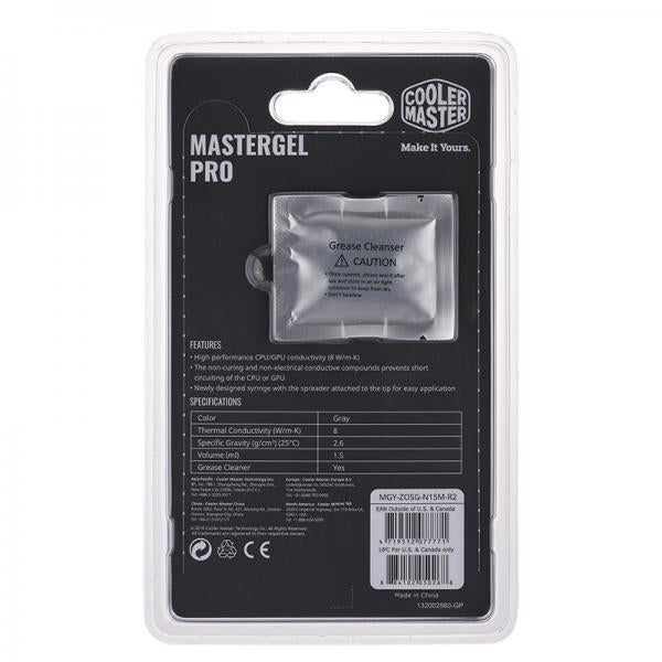 Cooler Master MasterGel Pro (New Edition) THERMAL PASTE