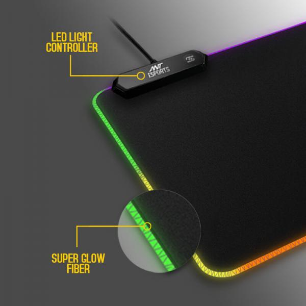 Ant Esports MP505 RGB Gaming Mouse Pad (Small)