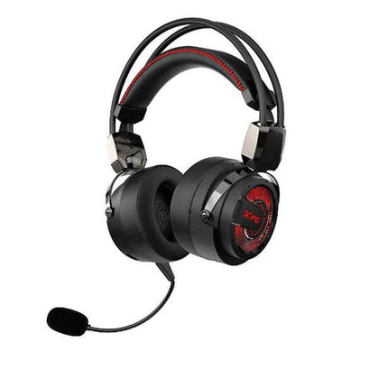 XPG Precog Red LED (Black) Gaming Headset