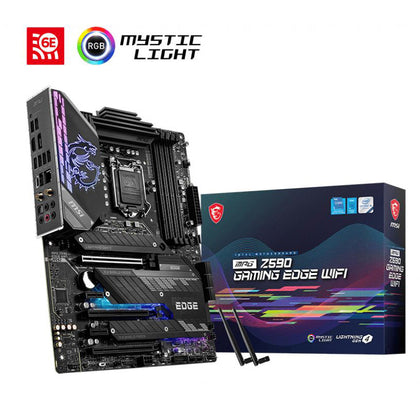 MSI MPG Z590 Gaming Edge WiFi Intel LGA 1200 ATX Motherboard