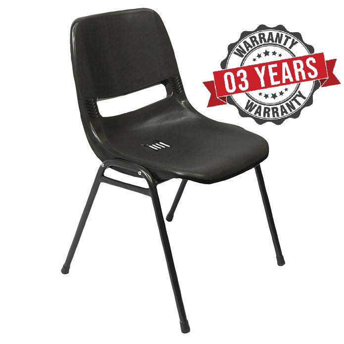 Stacking Chair With Polypropylene Shell