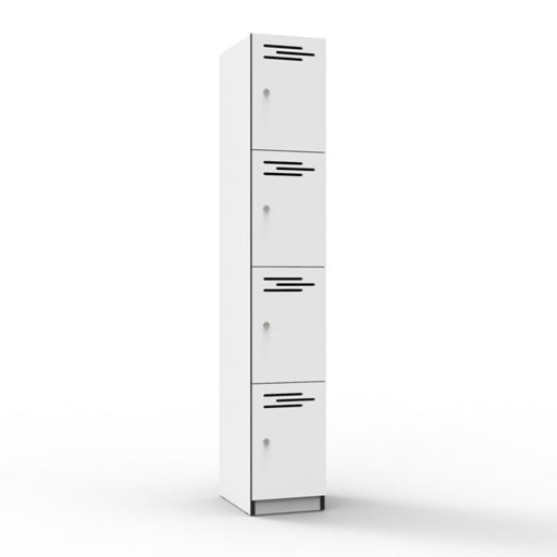 Four Door Melamine Locker