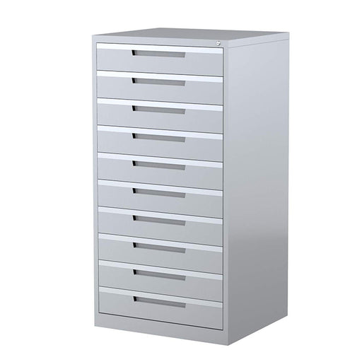 Steelco 10 Drawer Multimedia Cabinet