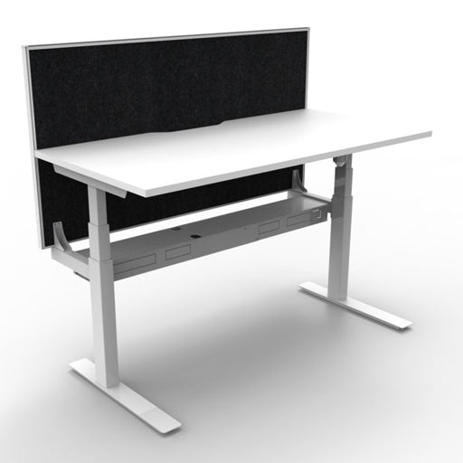 Paramount Electric Height Adjustable Workstation With Screen