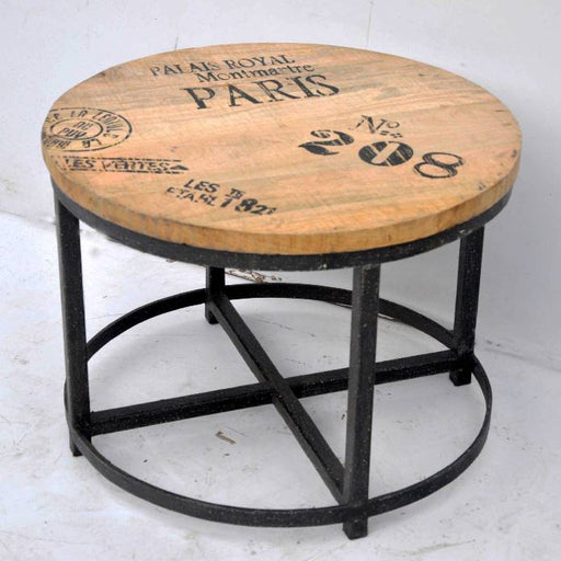 Hardwood Round Coffee Table