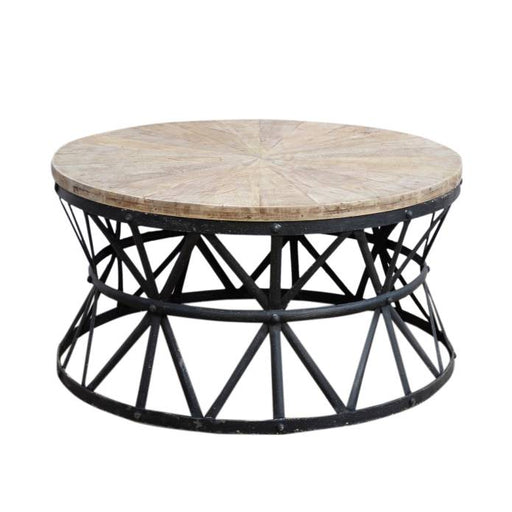 Cast Iron Round Coffee Table