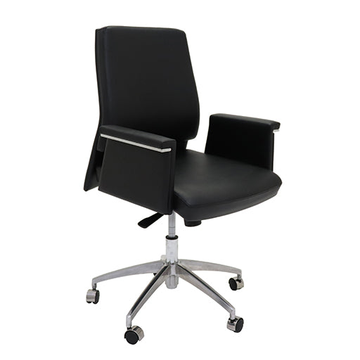 chrome Medium Back Executive Chair