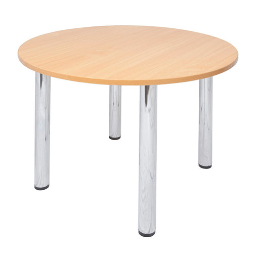 Chrome Leg Round Table