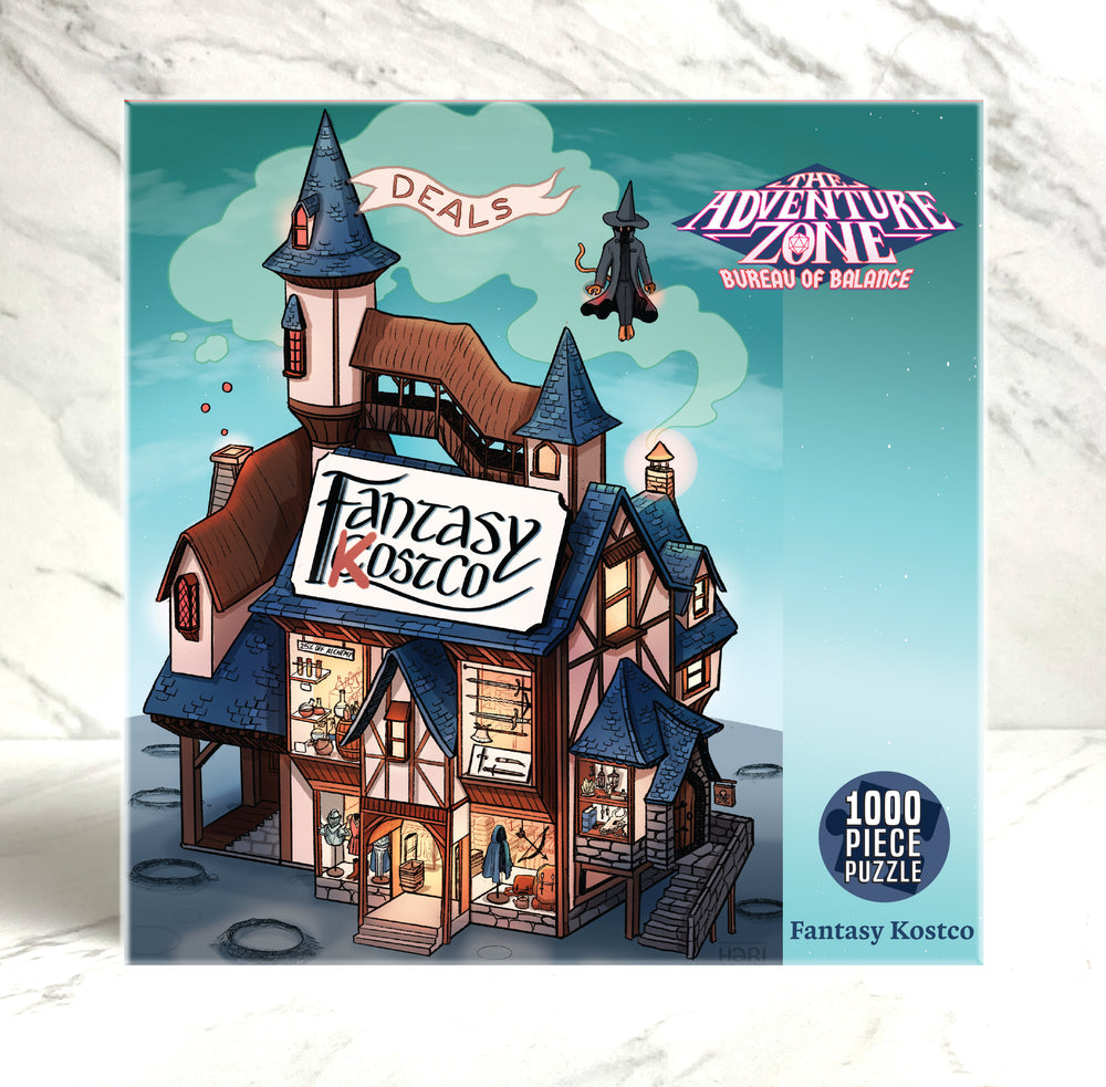 The Adventure Zone Fantasy KostCo Puzzle