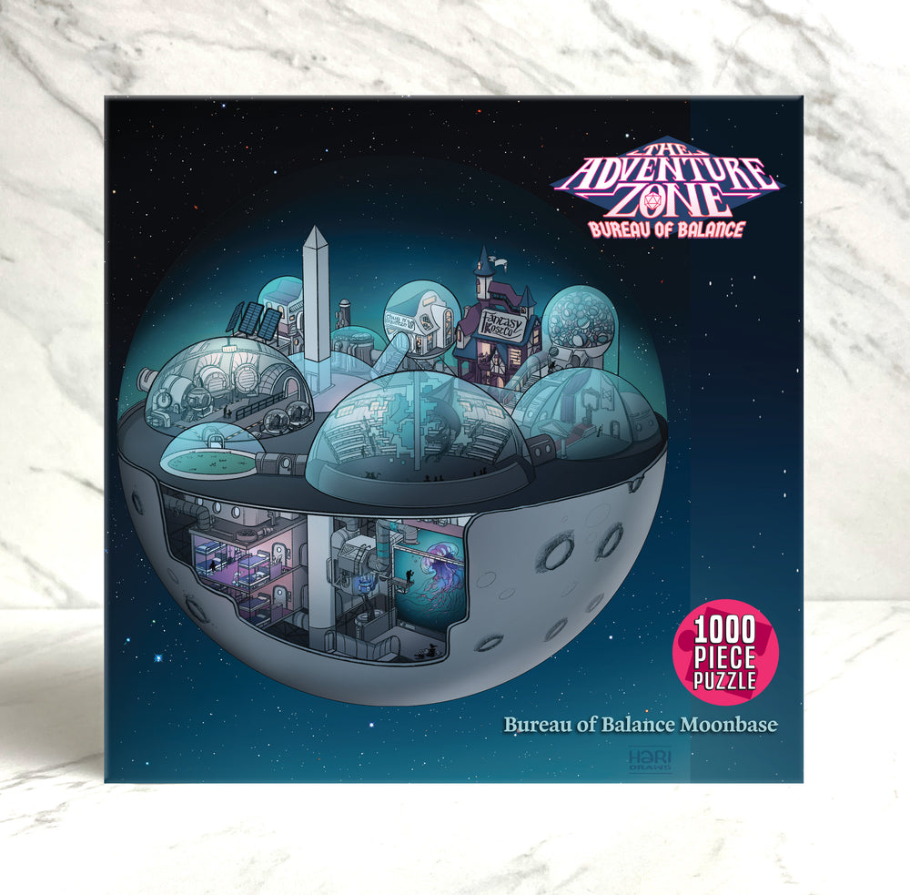 The Adventure Zone Moonbase Puzzle