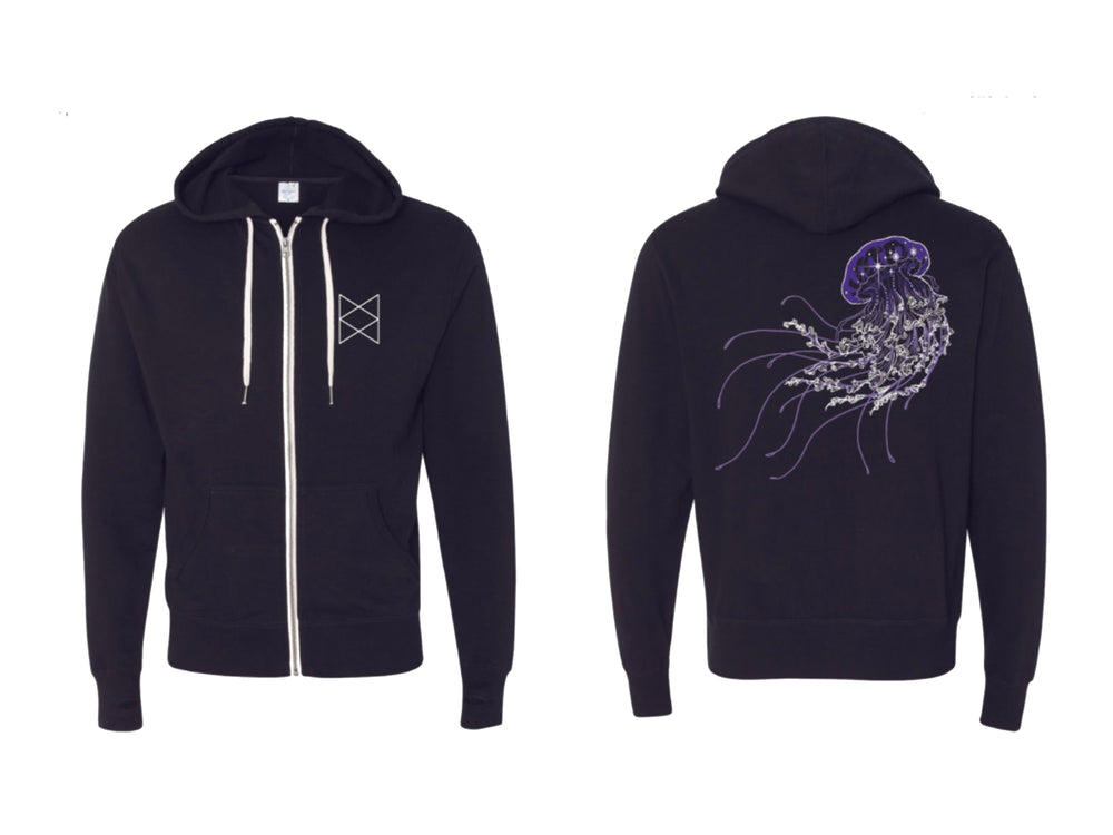 The Voidfish Shimmer Hoodie ( Size XS or 2XL Only)