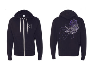 Load image into Gallery viewer, The Voidfish Shimmer Hoodie ( Size XS or 2XL Only)