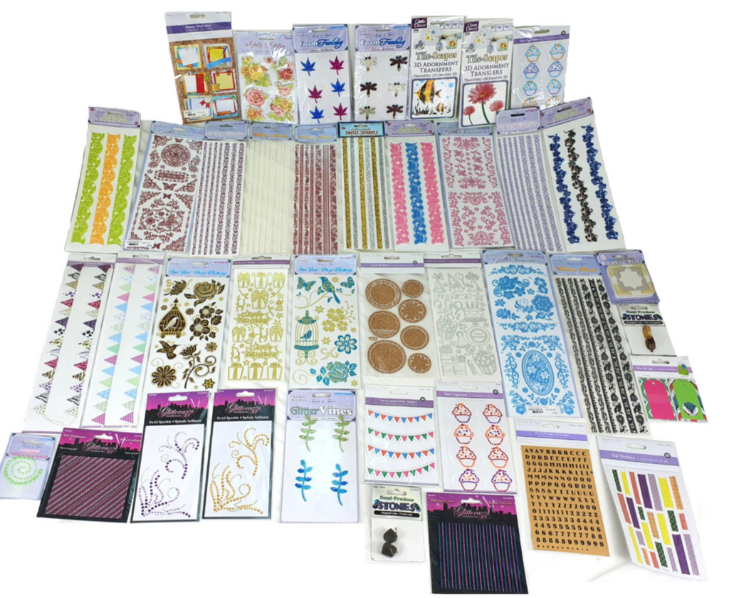 40 Pack Arts And Crafts Bundle Theviralthings J