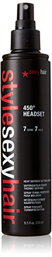 Varmebeskyttelse 450º Hold 7 Sexy Hair (250 ml)