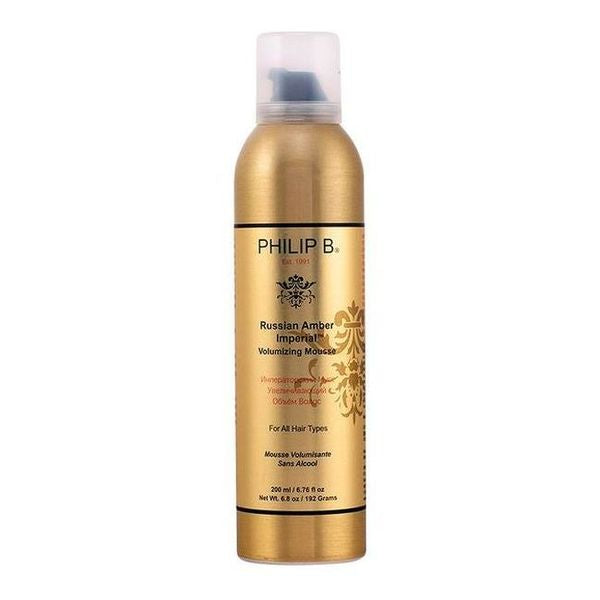 Skum til at give Volumen Russian Amber Philip B (200 ml)