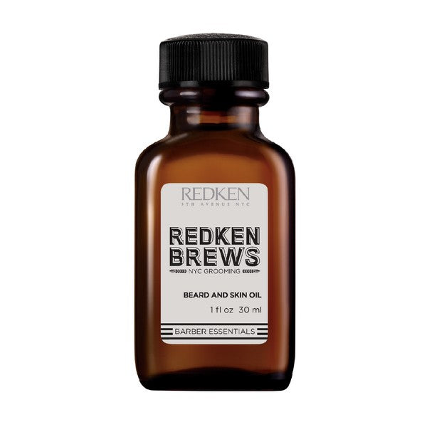 Olie til Skæg Redken Brews Redken (30 ml)