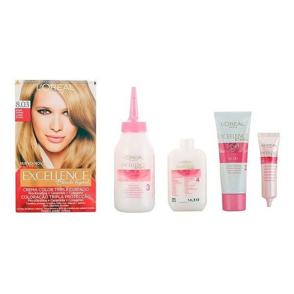 Permanent Farve Excellence L'Oreal Expert Professionnel Guddommelig blond