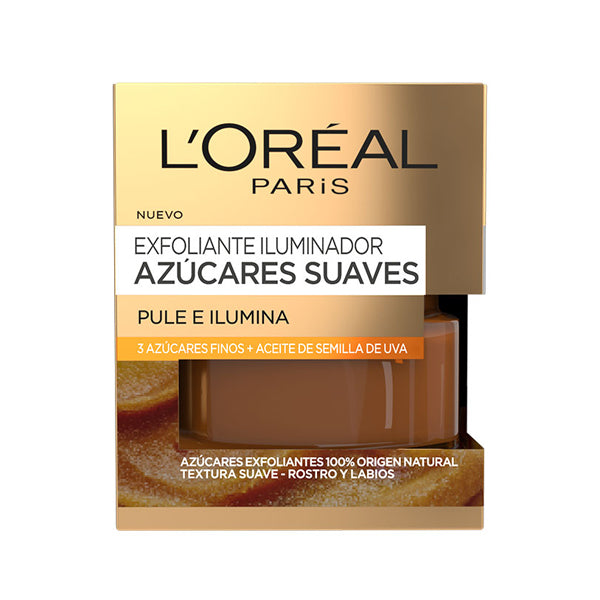 Skrubbecreme for ekstra glød Azúcares Suaves L'Oreal Make Up (50 ml)