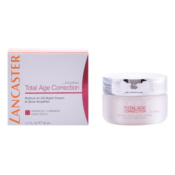 Anti-age natcreme Total Age Correction Lancaster (50 ml)