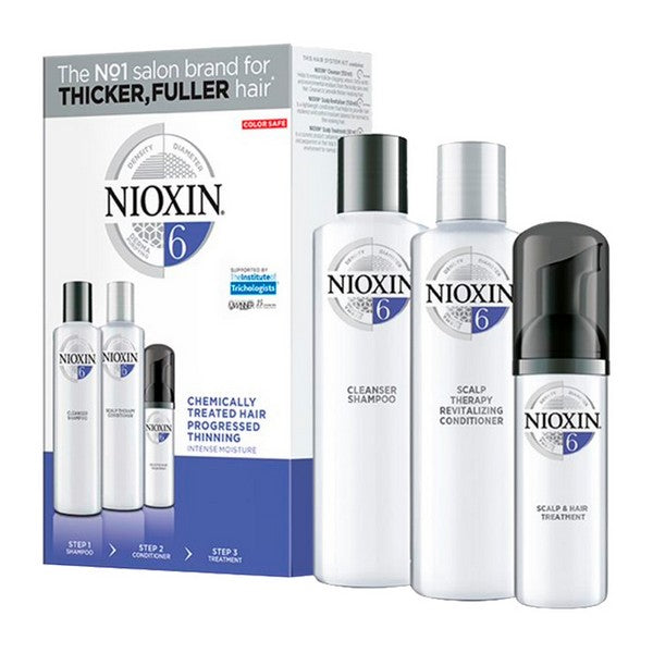 Anti-hårtab behandling System 6 Intense Hydratation Nioxin (3 pcs)
