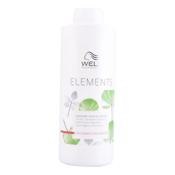 Reparerende Hårbalsam Elements Wella (1000 ml)