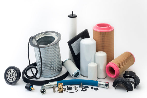 Air Compressor Parts | Oil filters, air filters, seperators, kits