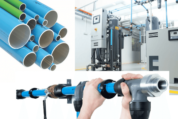 Compressed air piping and fittings | Airnet from Atlas Copco