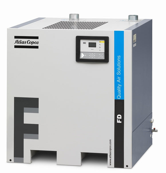 Atlas Copco FD95 Cycling Refrigerated Air Dryer 201 cfm at 100 psi (115/1/60)