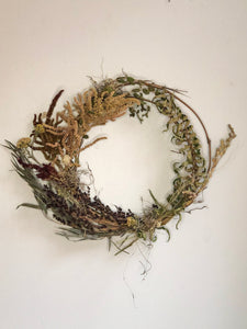 Dried Floral Wreath No. 6