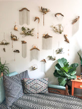 Load image into Gallery viewer, Driftwood & Floral Wall Hanging