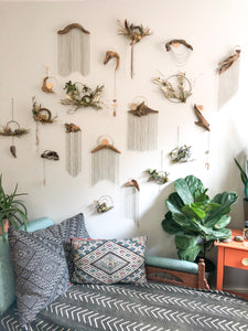 Driftwood & Floral Wall Hanging