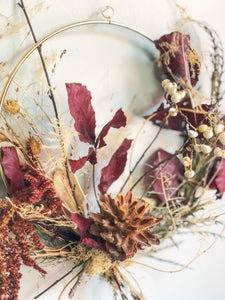Dried Floral Wreath No. 2