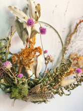 Load image into Gallery viewer, Dried Floral Wreath No. 3