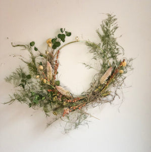 Dried Floral Wreath No. 7