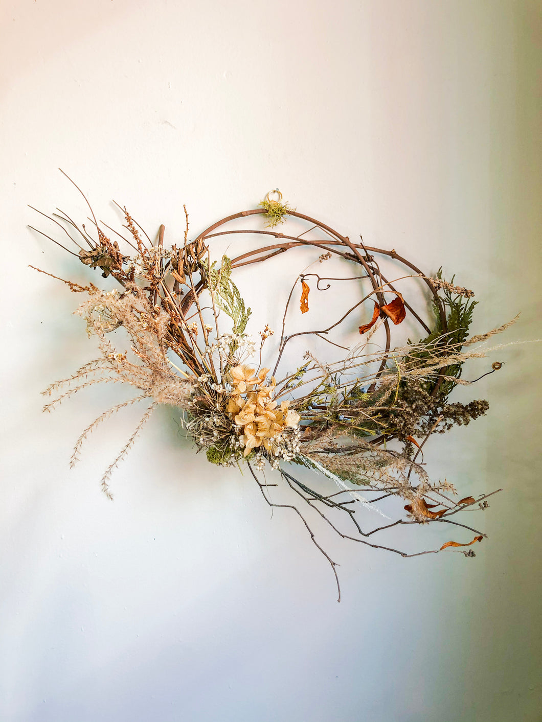 Dried Floral Wreath No. 3