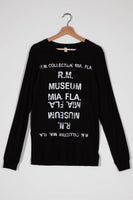 RM Black Long Sleeve T-Shirt