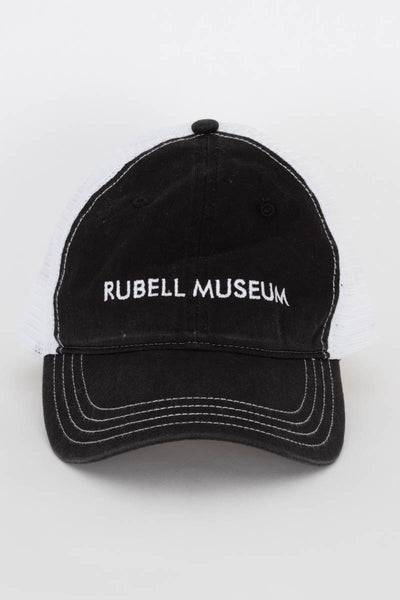 RM black and white logo hat