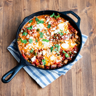 Chipotle Bean Tex-Mex Eggs