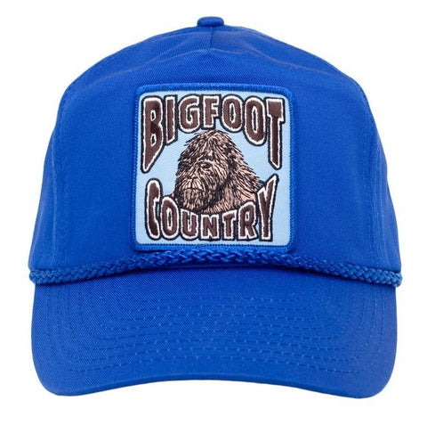 Bigfoot Country Cap, Embroidered Patch