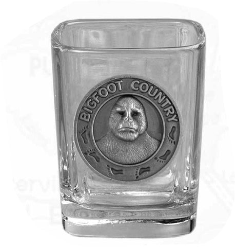Bigfoot Square Shot Glass