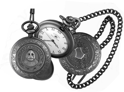 Bigfoot Pocket Watch